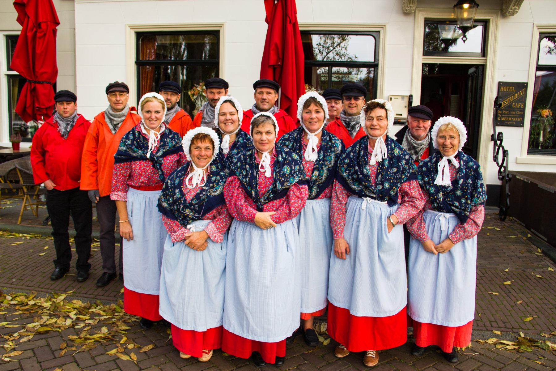 Groepsfoto de Vrye Visscherye